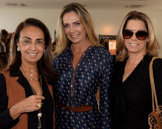 Tania Carvalho, Márcia Veríssimo e Tania Pereira