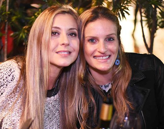 Vanessa Segadaes e Marilia Araújo