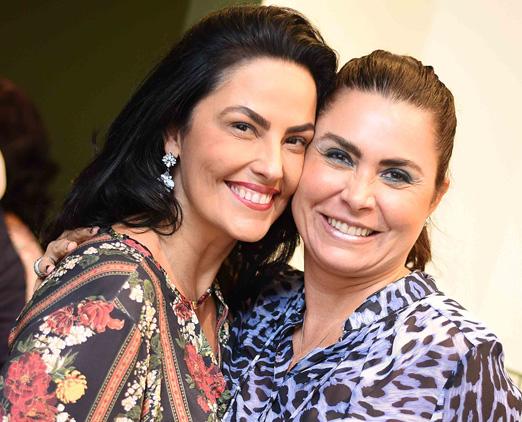 Adriana Almeida e Luciana Franco