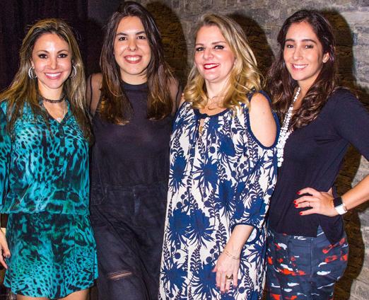 Alessandra Amaral, Mariana Broitman, Claudia Januzzi e Antonia Leite Barbosa