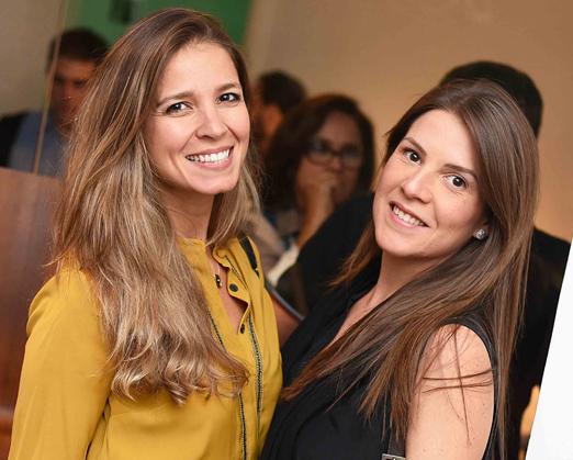 Aline Araújo e Julia Mello