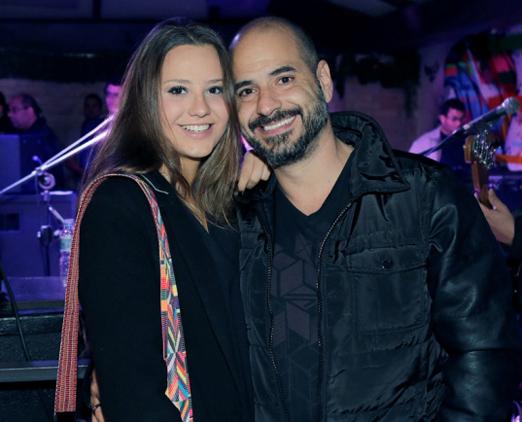 Amanda e Ronaldo Haddad
