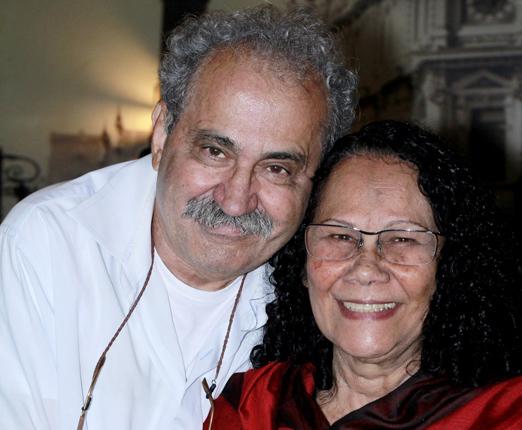 Ancelmo Gois e Tina Correia