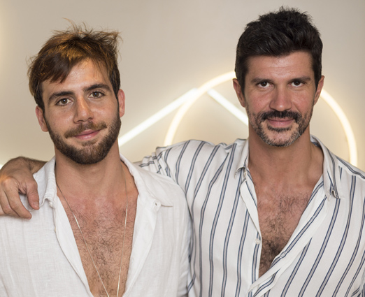 André Namitala e José Camarano