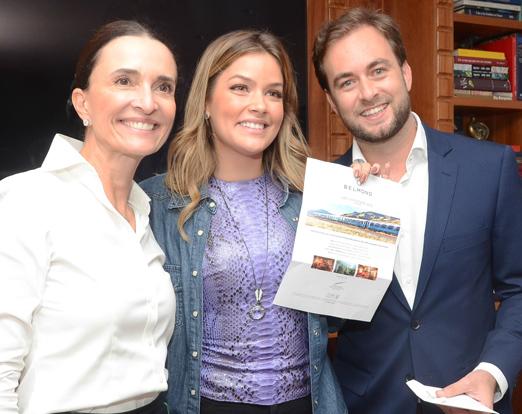 Andrea Natal, Marcella Tranchesi e Cassiano Vitorino