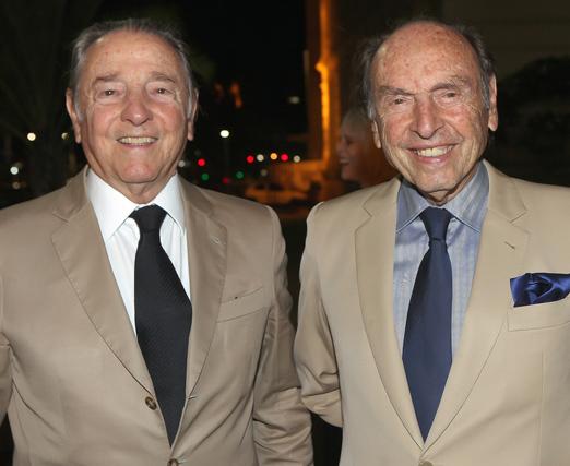 Armando Klabin e Daniel Klabin