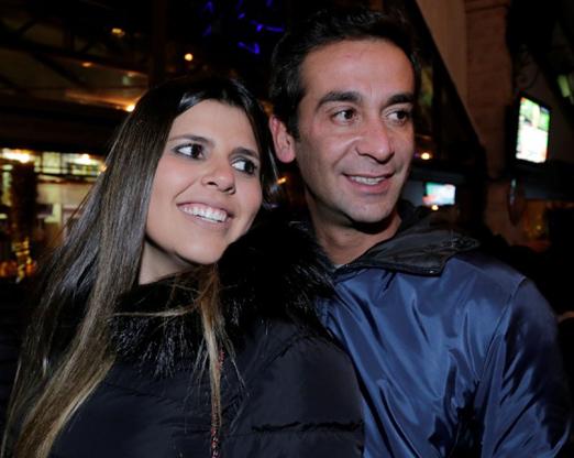 Barbara Gaudioso e Marcelo Faria