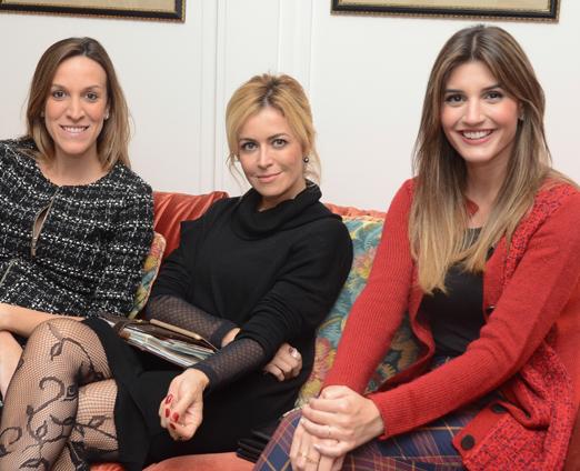 Camila Picini, Cris Tamer e Maria Rudge