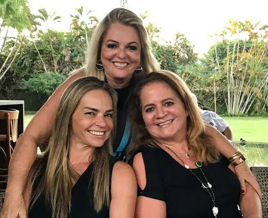 Carol Rajão, Gloria Tavora e Renata Fraga