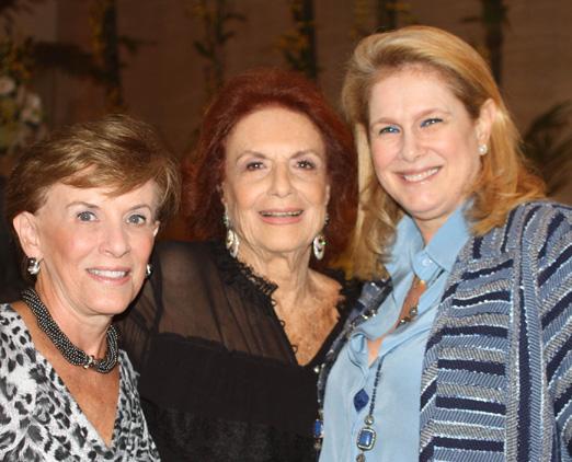 Cecilia Dornelles, Eliana Moura e Glória Severiano Ribeiro