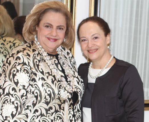 Cristina Aboim e Rita Mansur
