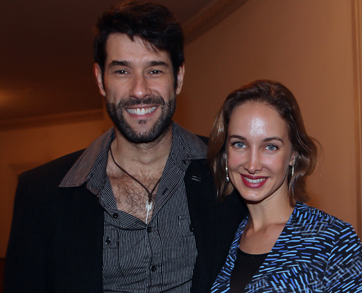 Daniel Del Sarto e Hazel Fischdick