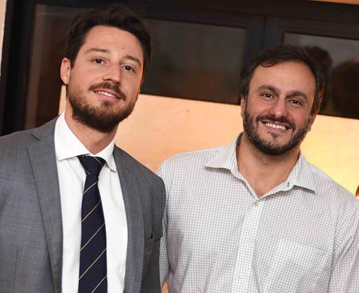 Eduardo Schuster e Bruno Mansur