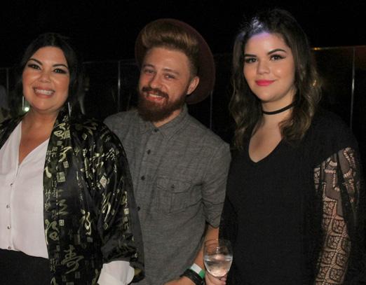 Fabiana Karla, Zuh Ribeiro e Laura Simões