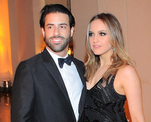 Felipe Scarpa e Gabriela Silvarolli