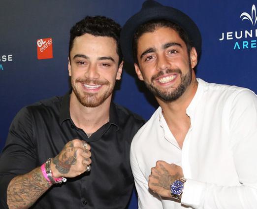 Felipe Titto e Pedro Scooby