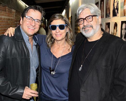 Fernando Vieira, Mary Nigri e Sérgio Mattos