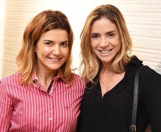 Flavia Marcolini e Tatiana Mendes