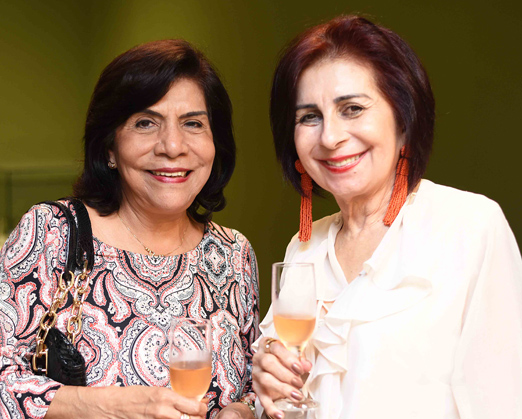 Gladys Garcia e Terezinha Azzi