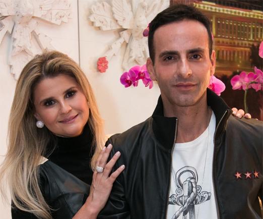 Helena Caio e Luis Fiod