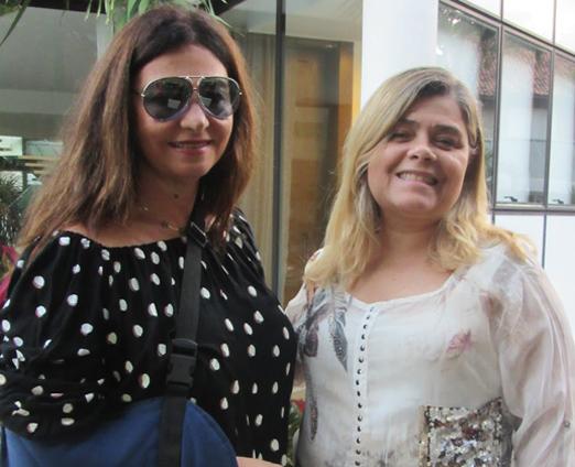 Hosana Pereira e Regina Ximenes