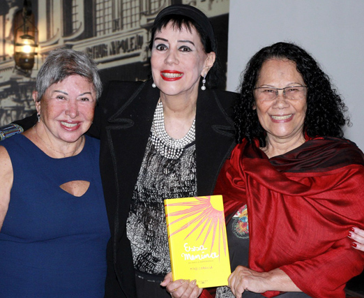Leila do Flamengo, Yacy Nunes e Tina Correia