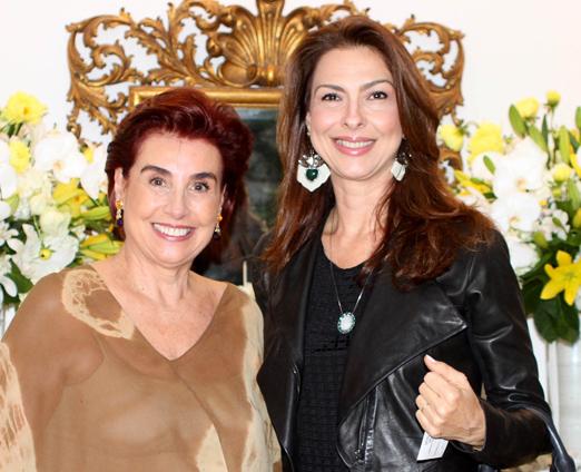 Lenir Lampreia e Mylene Peltier