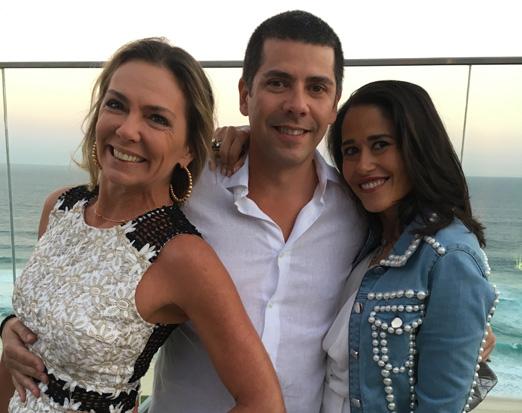Márcia Veríssimo, João Ricardo Coelho e Paula Severiano Ribeiro