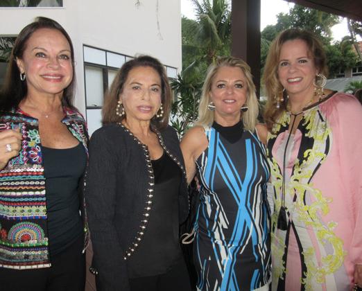 Maria Anísia Bonaparte, Yvonne Bezerra de Mello, Gloria e Henriqueta Magalhães