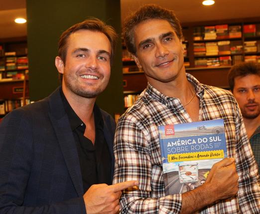 Max Fercondini e Rafael Calomeni
