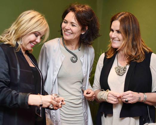 Mercedes Herrera, Roberta Damasceno e Renata Ceribelli