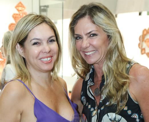 Mercedes Herrera e Márcia Veríssimo