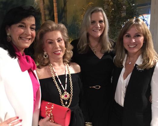 Monica Clark, Mariza Coser, Maninha Barbosa e Andrea Rudge