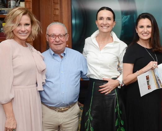 Monica Salgado, Philippe de Nicolay, Andrea Natal e Cris Lotaif
