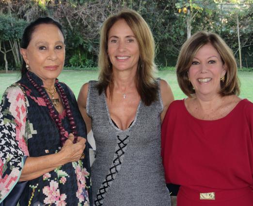 Myriam Gagliardi, Regina Dantas Villela e Sylvia de Castro