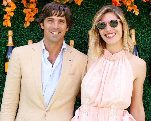 Nacho Figueras e Delfina Blaquier