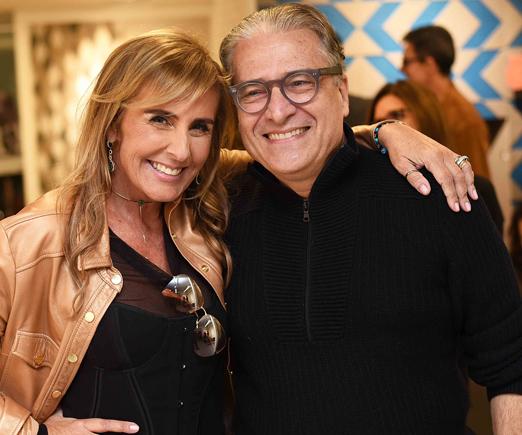 Patricia Hall e Luiz Marinho