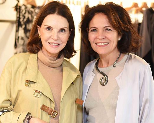 Patricia Mayer e Roberta Damasceno