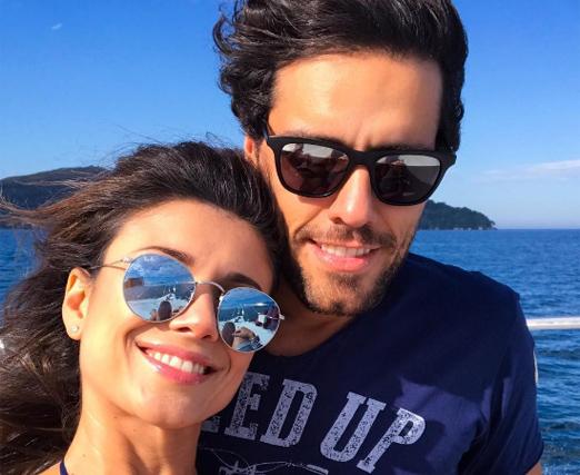 Paula Fernandes e Thiago Arancam