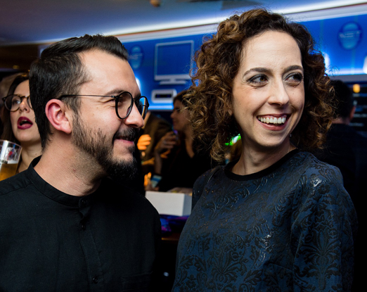 Paulo Biancchi e Mariana Armellini