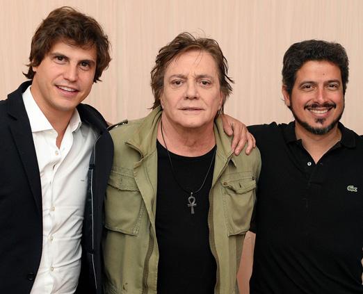 Pedro Braun, Fabio Jr e Dado Ribeiro