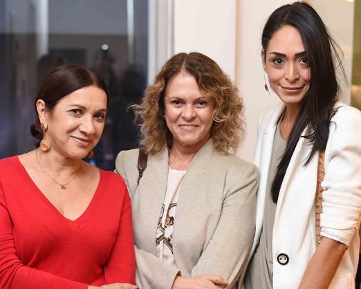 Sueli Bombiere, Aninha Costa e Karla Ortiz