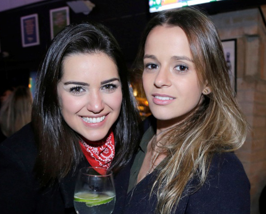 Tamara Fortes e Victoria Gordon