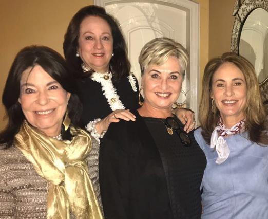 Tereza Quattroni, Beth Serpa, Paula Almeida e Regina Dantas Villela