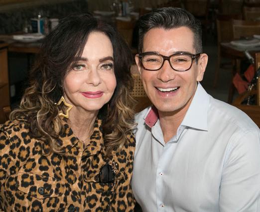 Vera Loyola e Marcelo Hicho
