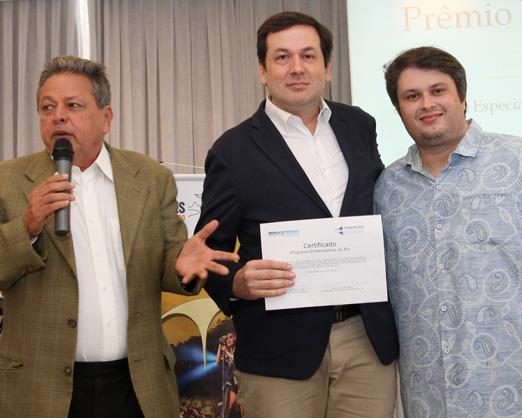 Aloysito Teixeira, Washigton Fajardo e Claudio André de Castro