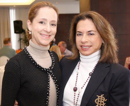 Ana Botafogo e Yvone Bezerra de Mello