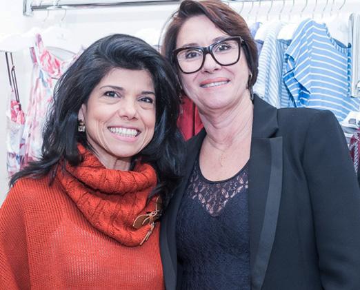 Ana Lucia Antunes e Eleonora Erthal
