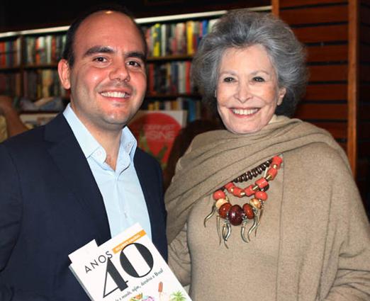 Antonio Paulo Pitanguy e Gisella Amaral