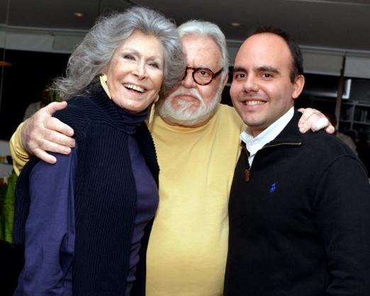 Antonio Paulo com Gisella e Ricardo Amaral